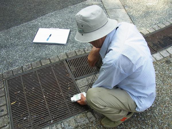 日本共産党杉並区議団独自放射線量測定(2011.08.14)