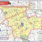 堀之内小学校区防災マップ