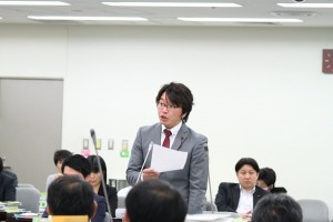 杉並区議会 2015年第3回定例会 予算特別委員会質疑 富田たく