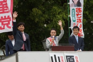2017年10月22日衆議院選挙東京8区おさない史子予定候補