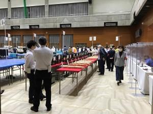 2021年東京都議会議員選挙 杉並区の開票作業の様子②(2021.07.04 21:55)